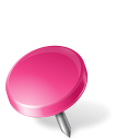 Drawing, Left, Map, Marker, Pin, Pink icon