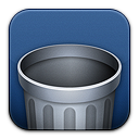 recycle bin, blank, trash, empty icon