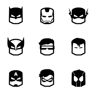 heroes icon sets preview