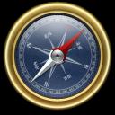 Compass, Goldxblue icon