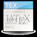 tex, text icon