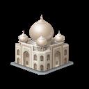 india, tajmahal, tourism, 7 wonders icon