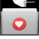 graphite, folder, favorite icon
