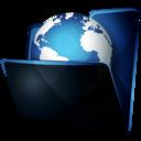 folder,network icon