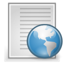 file, document, html, text icon