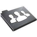 Grey, Users icon