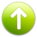 arrow up, ascend, rise, arrow, ascending, up, upload, increase icon