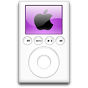 mp3 player, ipod, alternative, purple icon