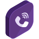 viber, media, internet, network, social, communication, call icon