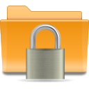 folder, locked, security, lock, kde icon