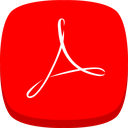 acrobat, reader, adobe icon
