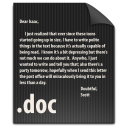 file, doc, document, paper icon