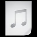 music,file,paper icon