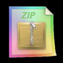 Files, Zip icon
