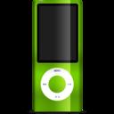 iPod nano green icon