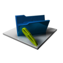 Blue Folder Edit icon