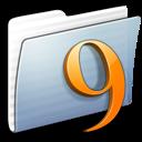classic, graphite, stripped, folder icon