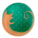 Drawing, Firefox icon