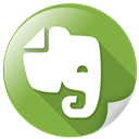 evernote, text, synchronize, software icon