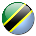 tanzania, flag, country icon