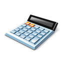 Calculator, Desk icon