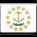 rhode, flag, island icon
