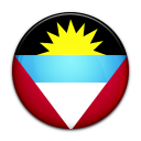 and, barbuda, country, flag, antigua icon