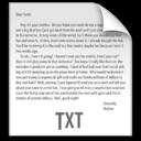 z File TXT icon