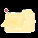 Folder Vanilla Note icon
