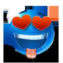 love, smiley, valentine's day icon