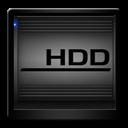 Black, Hdd icon