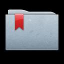 graphite, ribbon, folder icon