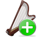 arpa,add,instrument icon