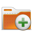 archive, to, folder, add icon