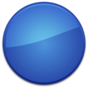 blank,badge,blue icon