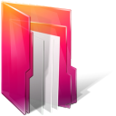 Aurora, Folders, texto icon