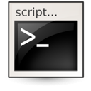 Application, Shellscript icon