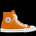 converse,orange icon