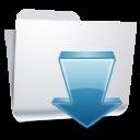 Folders Downloads icon