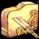 Brokensword, Folder icon