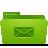 Folder, Green, Mails icon