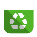 recycling, bin, full icon
