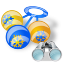Rattle, Search icon