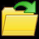 file, open, folder icon