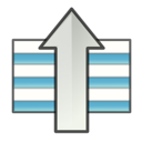 upload, gtk, increase, rise, sort, ascending, up, ascend icon