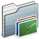 wallpaper,folder,graphite icon