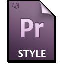 Document, File, Pr, Style icon