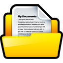 paper, file, document, my document icon