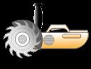 machine, tools, cutting, saw, instrument, cut, electric icon