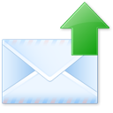 send, email, letter icon
